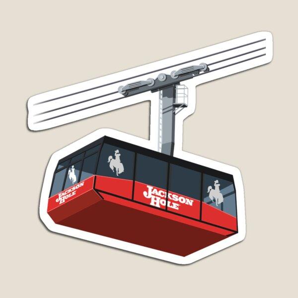 Jackson Hole Cable Car Magnet