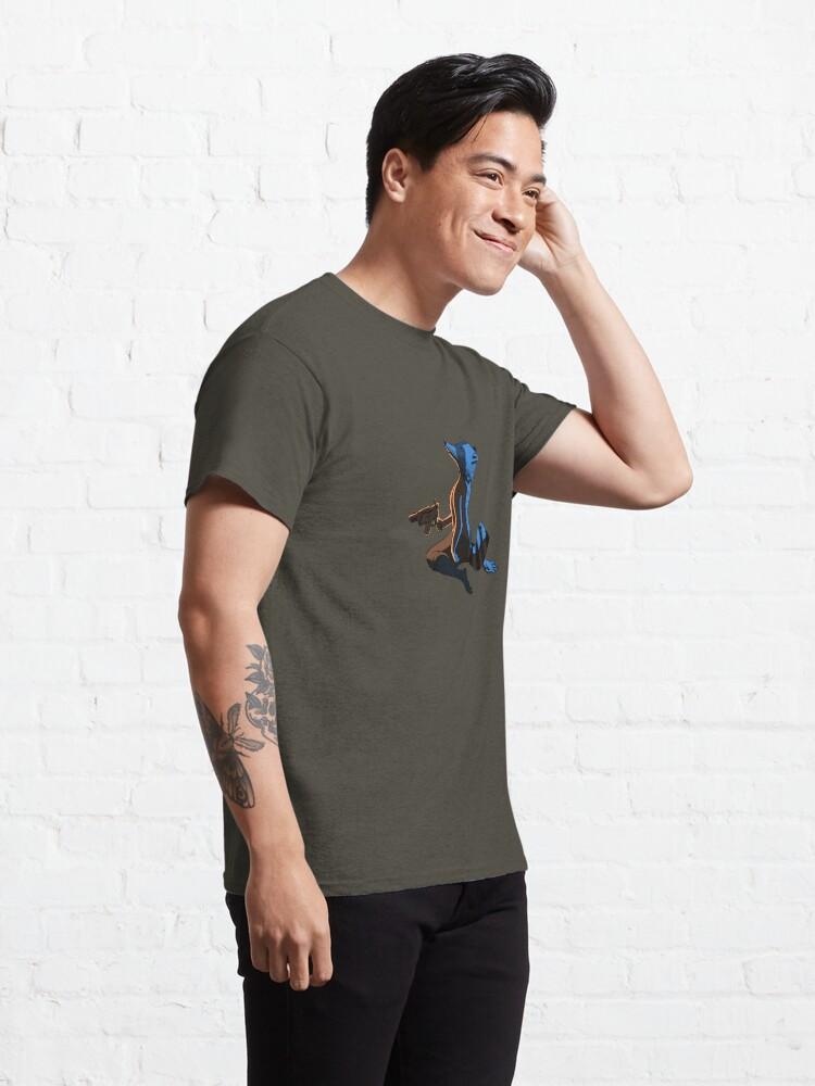 T-shirt classique ''Ghost Raccoon': autre vue