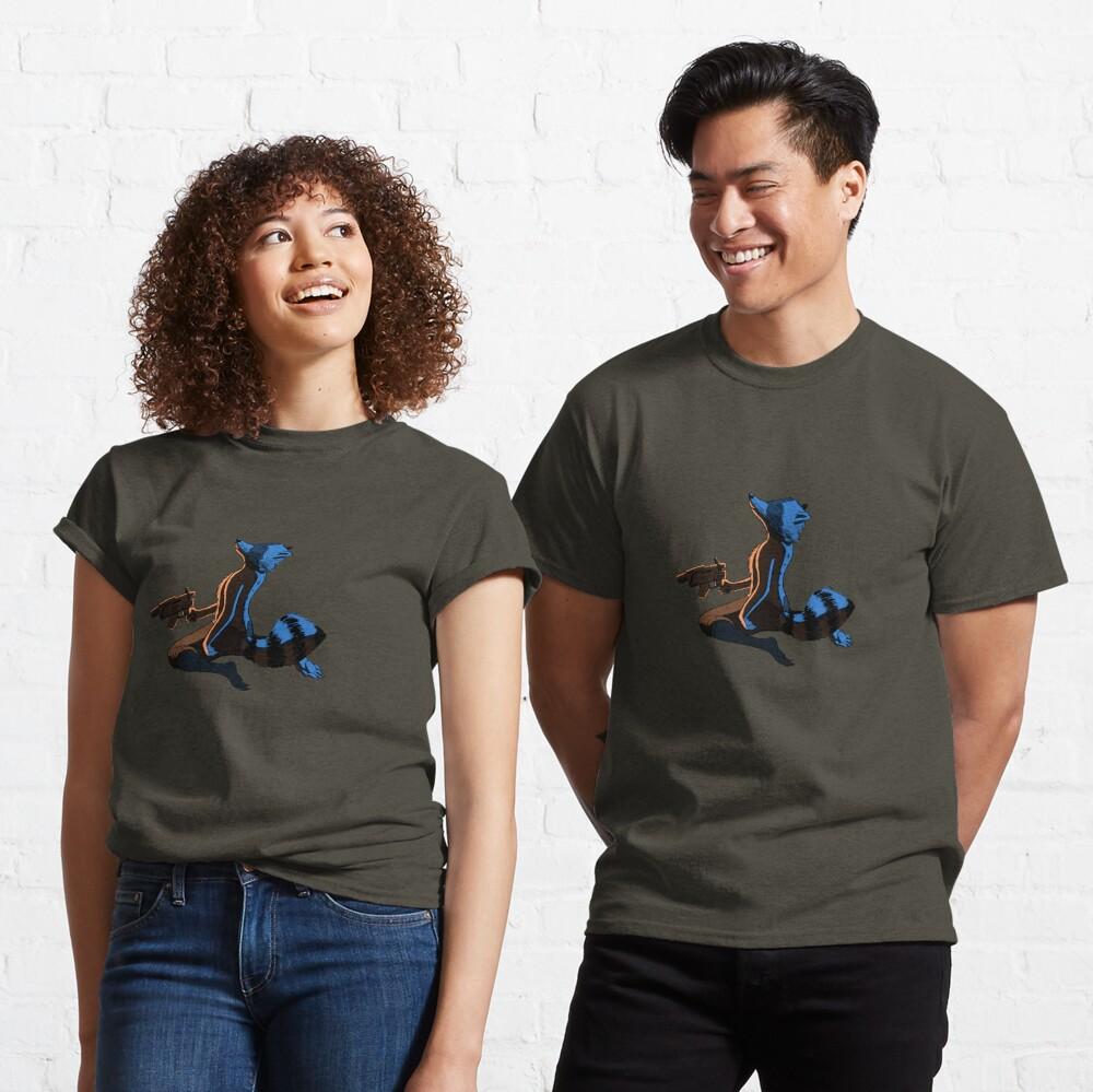 T-shirt classique «Ghost Raccoon»
