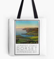 Poster English Riviera Kimmeridge Bay Tote Bag