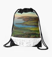 Poster English Riviera Kimmeridge Bay Drawstring Bag