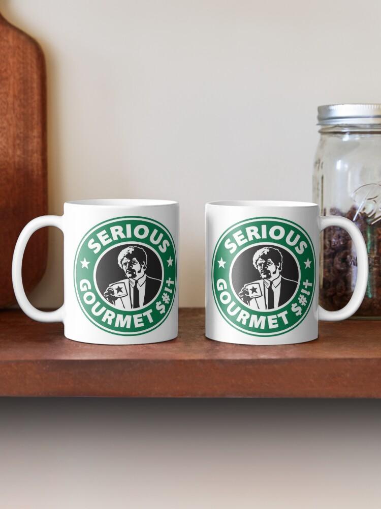 Alternate view of Some Serious Gourmet Coffee (clean) Mug