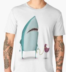 Shark and friend Men's Premium T-Shirt