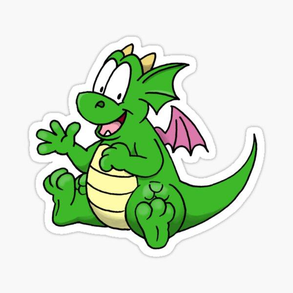 Sparky the Dragon Sticker