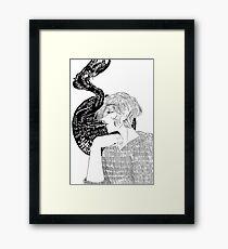 Guilt Complex Framed Print