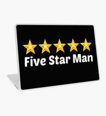 5 star man Laptop Skin