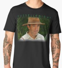 russell coight - You don't think your way to creative work. You work your way to creative thinking. Men's Premium T-Shirt