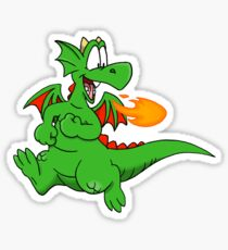 Zookie the Dragon Sticker