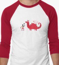 Dragon BBQ Men's Baseball ¾ T-Shirt