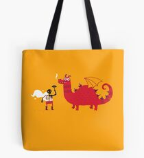 Dragon BBQ Tote Bag