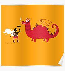 Dragon BBQ Poster