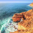 The Natural Bridge Kalbarri Western Australia  1 by Colin  Williams Photography