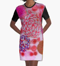 Yarn & Quilled Menagerie Graphic T-Shirt Dress