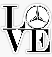 Love Mercedes  Sticker