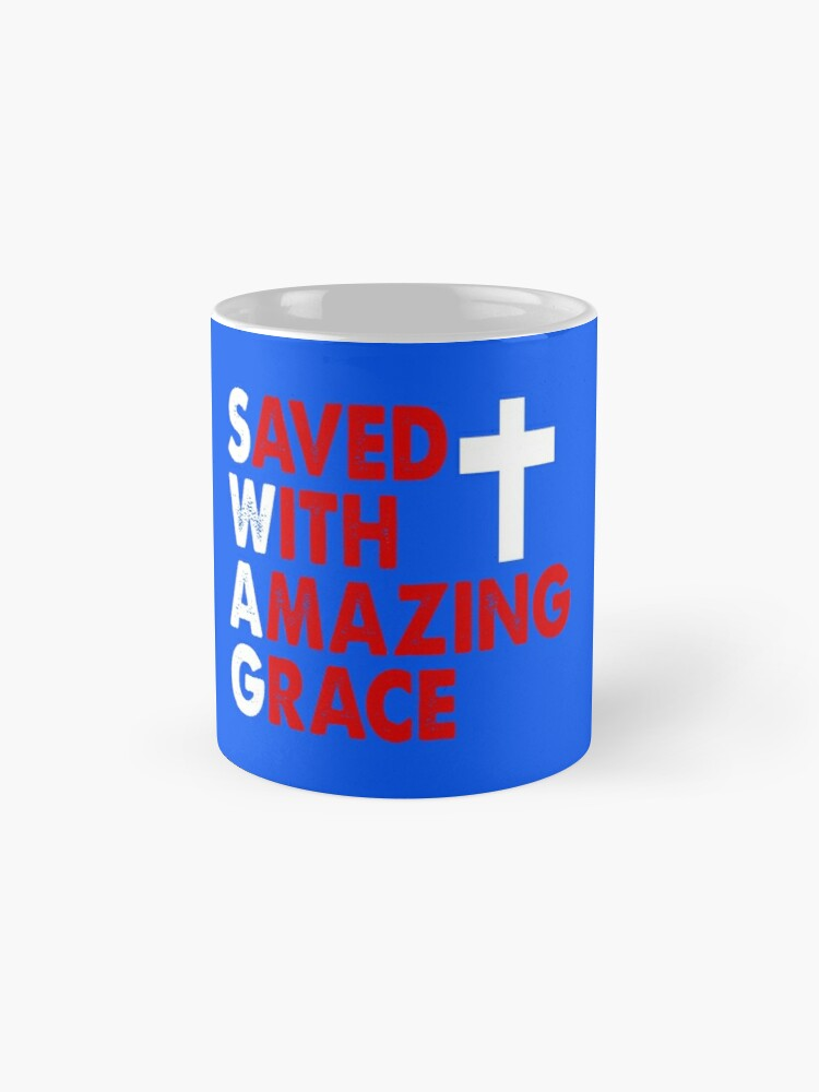 Alternate view of Saved with Amazing Grace Mug