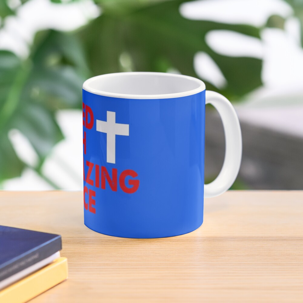 Saved with Amazing Grace Mug