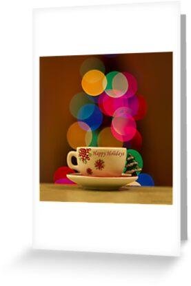 Happy Holidays Greeting Card by John Velocci