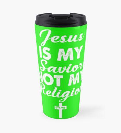 Jesus is my savior  Travel Mug