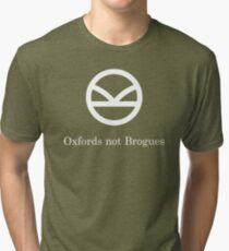 Kingsman Secret Service - Oxfords not Brogues Tri-blend T-Shirt