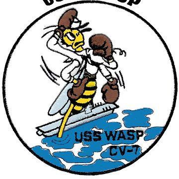 USS Wasp (CV-7) Crest by Spacestuffplus