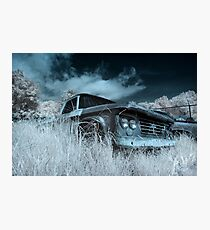 Abandoned 1963 Dodge Sweptline - infrared Photographic Print