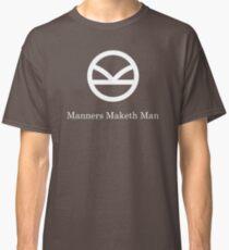 Kingsman Secret Service - Manners Maketh Man Classic T-Shirt