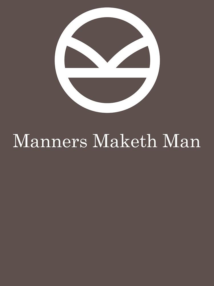 Manners maketh man essay