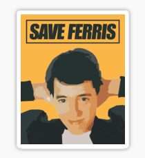 save ferris - Successful design is not the achievement of perfection but the minimization and accommodation of imperfection. Sticker