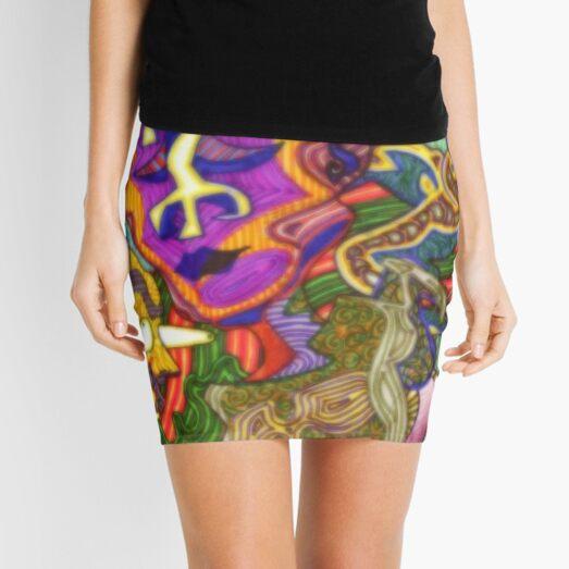 Too Much Mini Skirt