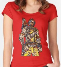 Borderlands 2 - AXTON Women's Fitted Scoop T-Shirt