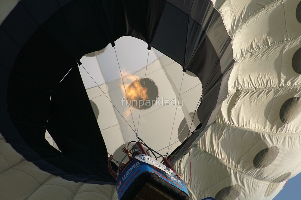 Hot Air Balloon by funparklady