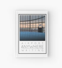 Poster Airport Waiting Hardcover Journal