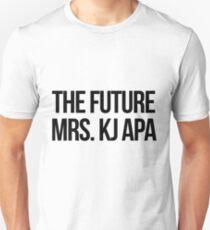 The future Mrs. KJ Apa Unisex T-Shirt