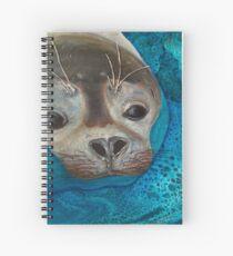 Seal Just a Peek Spiral Notebook