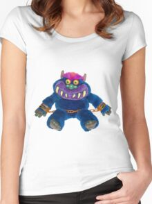 My Pet Monster Women's Fitted Scoop T-Shirt