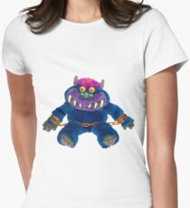 My Pet Monster Womens Fitted T-Shirt
