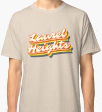 Laurel Heights | Retro Rainbow Classic T-Shirt