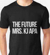 Die zukünftige Frau KJ Apa--- Weiß Slim Fit T-Shirt