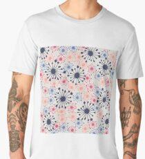 Winter Flower Collection Men's Premium T-Shirt