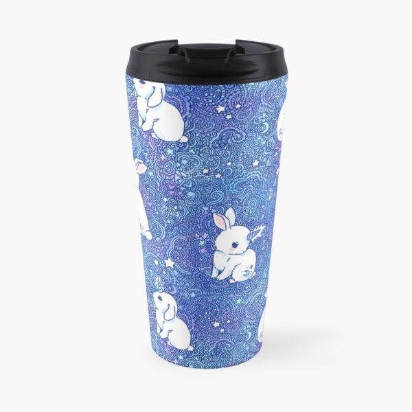 Unicorn Bunny Pattern Travel Mug