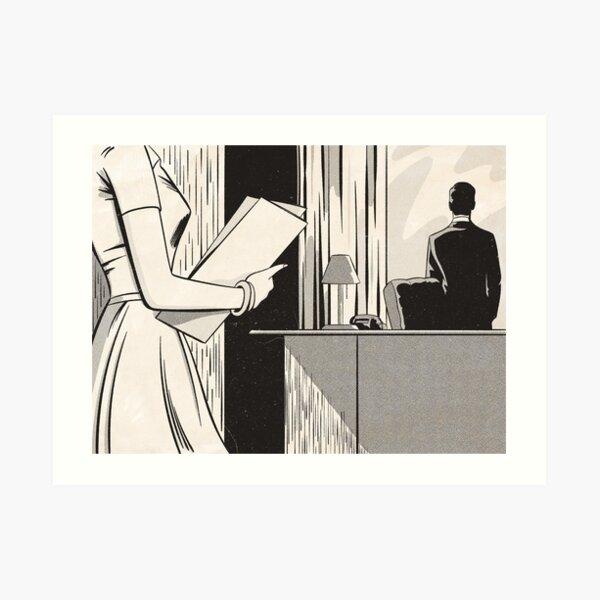 NOIR no.03 (SIR?) Art Print