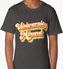 University Mound | Retro Rainbow Long T-Shirt