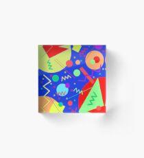 Memphis #51 Acrylic Block