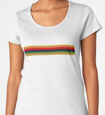 13th Doctor - Rainbow Shirt Women's Premium T-Shirt