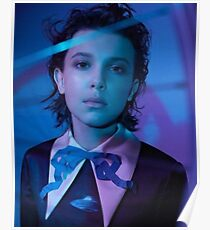 Milly Bobby Brown Stranger Things Poster