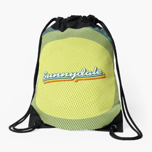 Sunnydale | Retro Rainbow Drawstring Bag