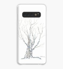 Little DNA Tree, Hand drawn ink on paper ACEO Case/Skin for Samsung Galaxy