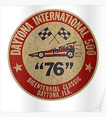 Daytona International 500 1976 USA Poster