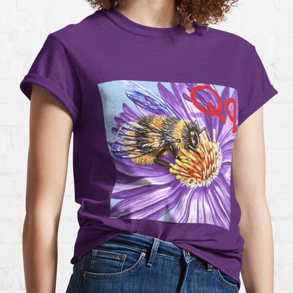 Q is for Queen Bee Classic T-Shirt