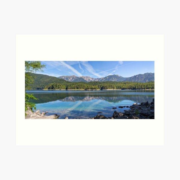 Lake Eibsee Art Print